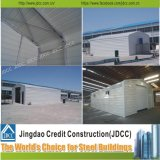 Costruzione galvanizzata della struttura d'acciaio del garage