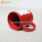 11oz de rode Ceramische Mok van de Koffie voor Verkoop