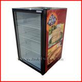 refroidisseur en verre d'étalage de la nourriture 130L