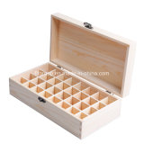 جديدة تصميم [رووند شب] لون طبيعيّ خشبيّة خمر صندوق