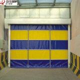 Kundenspezifisches Belüftung-Lager rollen oben schnelle Vorgangs-Geschwindigkeit-Tür