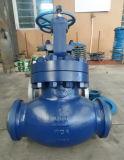 Valvola di globo ad alta pressione manovrata mediante ingranaggi della flangia