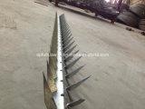 Galv caliente. Punto de la pared del acoplamiento de alambre de la maquinilla de afeitar de la cerca del alambre de púas/del alambre de púas