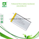 bateria 805085 do polímero do lítio de 3.7V 4000mAh com PCM e fio