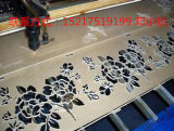 Macchina per incidere di legno Inscribed del laser del cuoio di slittamento del bambù, macchina per incidere del laser, taglio del laser a cristallo