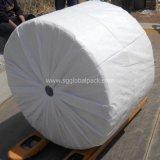 Tissu 60GSM tissé par pp blanc pour faire des sacs
