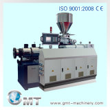Twin conique Screw Extruder pour Pipe, Sheet, Profile Extrusion Line