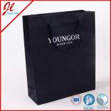 Luxuxlaminierung Costomized Papiergeschenk-Einkaufstasche mit der Hand