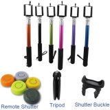 Stative und Bluetooth Blendenverschluss-Installationssatz Selfie Stock für Handy