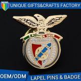 Pin duro d'imitazione personalizzato del risvolto del distintivo dello smalto del metallo in lega di zinco
