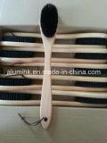 Cepillo principal redondo de madera de la capa del cepillo de la capa del hotel para el hotel