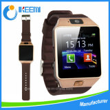공장 OEM 단 하나 SIM 전화 Bluetooth Dz09 Smartwatch