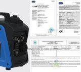 Gerador monofásico padrão da gasolina 800W da C.A. com Ce, GS, EPA, aprovaçã0 de PSE