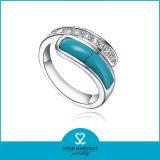 Мода Jewellery кольца серебра бирюзы моды (R-0516)