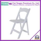 Chaise de mariage/chaise pliage de résine/chaise blanche de mariage