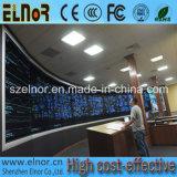 Quadro de avisos Fullcolor interno arcado do diodo emissor de luz da elevada precisão P6
