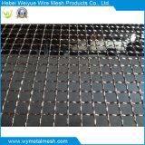 Exportation carrée sertie de treillis métallique
