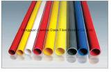 Tubo anticorrosión de la fibra de vidrio, tubo FRP poste de GRP con el aislante