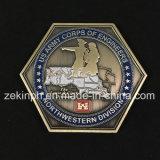 Preiswerte kundenspezifische Decklack USA-Armee-Metallherausforderungs-Münzen