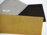Hoja/placa/tarjeta baratas de encargo de la fibra del carbón 3k 2m m