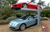 Deux levage hydraulique de véhicule de stationnement de poste du cylindre deux/levage automatique de stationnement