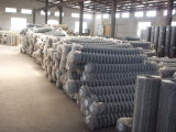 China Anping Galvanized und Sicherheitszaun Mesh (Factory PVC PVC-Coated Chain Link &Galvanized)