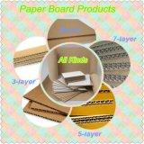 Завод Paperboard Corrugated картона изготавливания 3 Ply толковейший для машины коробки