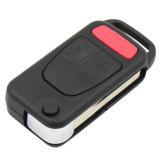 4 lamierina chiave a distanza della cassa di coperture di vibrazione non tagliata della lamierina del tasto dei tasti 3+1 Hu39 per il benz Ml320 Ml55 Amg di Mercedes