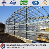 Entrepôt léger de structure métallique avec le fléau de résistance de vent