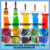 Het Pigment van het Oxyde van het ijzer voor Cement in Rode Gele Zwarte Groenachtig blauw