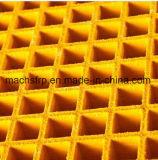 Moldeado de fibra de vidrio de rejilla con Anti-UV / ignífugo