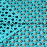 Estera de goma de piso de goma biselada, alfombras de goma útiles de gimnasia