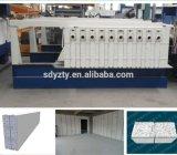 Máquina inmóvil del panel de emparedado del cemento de la pared EPS del moldeado de Tianyi