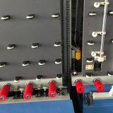 Ligne de traitement de verre isolant vertical