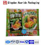 Прокатанные материальные мешки упаковки еды заедк упаковки