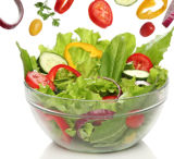De plastic Plaat van de Kom van het Fruit voor Salade