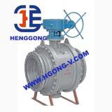 API/DINのステンレス鋼のアクチュエーター空気のトラニオンの球弁