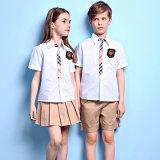 Surtidor del contacto soy diseño primario del uniforme escolar de Unifrom Shirt&Shorts de la calidad de Awayhigh
