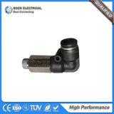 Elemento de montagem do tubo pneumático Conector rápido do cotovelo
