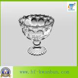 Nuovi articoli per la tavola Kb-Hn0123 della ciotola di vetro del gelato della radura di alta qualità di disegno