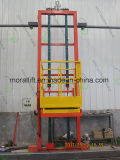 Elevación triaxial vertical automotora profesional del hombre de la plataforma del sitio que pinta (con vaporizador)