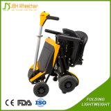 Neuer ausbreiten-und Falz-Minilithium-Batterie-elektrischer Roller des Leichtgewichtler-31kg Stahlmit Fernsteuerungs