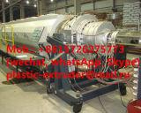Riga macchina dell'espulsione del tubo dell'intelaiatura di plastica del PE dell'HDPE di produzione per il tubo dell'isolamento termico del poliuretano
