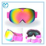 TPU Frame Skiing Eyewear Óculos de segurança com Wide Head Band