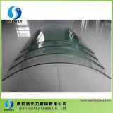 Vidro 2017 curvado densamente moderado de Shandong 5mm