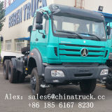 Beiben tractor 6X4 Cabeza 380hp 420HP Weichai Camión Tractor Motor