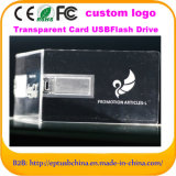 투명한 카드 USB 카드 기억 장치 디스크 USB 섬광 드라이브 (EC110)