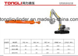 Землечерпалка Doosan разделяет цилиндр /Hydraulic цилиндра рукоятки Dh300