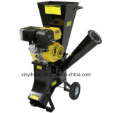 Shredder 389cc Chipper de madeira com capacidade lascando-se de 102mm