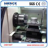 Especificação chinesa horizontal resistente Ck6150 da máquina do torno do metal do CNC